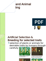 Plant and Animal Breeding