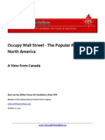 Occupy Wall Street- The Popular Revolt in North America