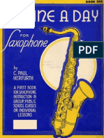 A Tune a Day Saxophone Course Book 1