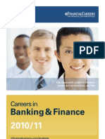 Careers in Banking & Finance 2010-2011