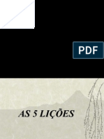 As 5 licoes