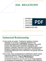 Industrial Relation Ppt