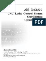 ADT-CNC4220 Operation Manual