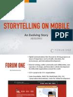 2011-10-22 Storytelling on Mobile (@ NPR DUXcamp)