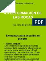 4.3 DEFORMACIÓN DE LAS ROCAS
