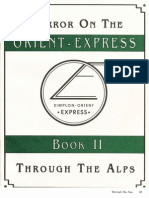 Call of Cthulhu - Horror on the Orient Express - Book 2 Through the Alps
