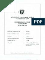 Final Exam Static (BDA 1023) 10405
