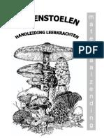 handleiding paddenstoelen 2007