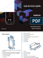Nokia 5800 XpressMusic Quick Start Guide Es