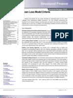 FI US Re Sip Rime Loan Loss Model Criteria 110815