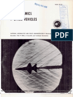 Aerodynamics of Space Vehicles