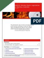Northern Territory Photoelectric Smoke Alarm Legislation-Nov11