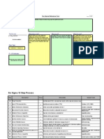 Six Sigma Tools in a Excel Sheet
