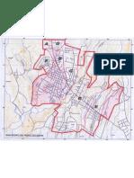 Mapa de San Isidro de Perez Zeledon