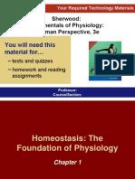 Hemeostasis .. Foundation of Physiology Ch1