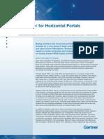 Magic Quadrant for Horizontal Portals