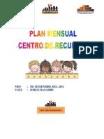 Plan Mensual Setiembre