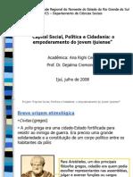 política - evoluçao da cidadania