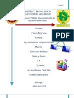 Sintesis Estructura de Datos Grafo