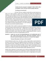 TiVO Study Questions - Tobias Kleinmann