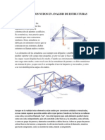 Metodo de Los Nudos en Analisis de Estructuras