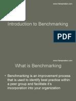 Bench Marking Presentation