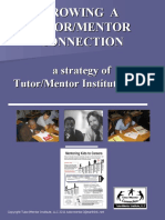 Tutor/Mentor Institute - Learning Network Strategy