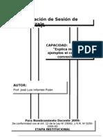 Planif Sesin de Aprendizaje Jose Infantes