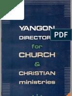 Yangon Church Directory