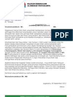 Pengantar & Proposal 2011Penyaluran Hewan/Daging Qurban