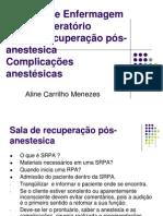Aula de Cuidado de Enfermagem No Pos Opera to Rio