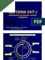 Distribucion de Valvulas Variable VVTi Toyota