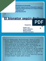 El bionator según Balters