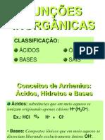 Classificacao Dos Acidos