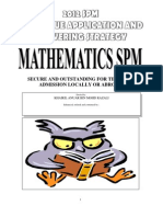 TECHNIQUE APPLICATION MATHEMATICS SPM