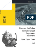 Aprilia 125 Rotax 122 Engine Repair Manual ITA,EnG,GER by Mosue