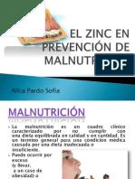 EL ZINC EN PREVENCIÓN DE MALNUTRICIÓN
