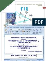 Planif-TIC-2011 Estrada 3er año