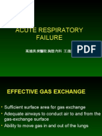 Acute Respiratory Failure for Student