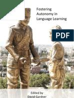 Fostering Autonomy[1]