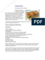 Sandwich Mediterranean