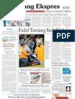 Koran Padang Ekspres   Minggu, 23 Oktober 2011