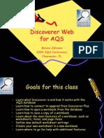 Discoverer Web