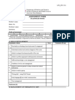 IPD Student Evaluation