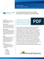 Century Payments Case Study