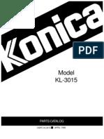 Kl3015 Parts