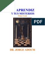Adoum Jorge - Aprendizmason y Sus Misterios
