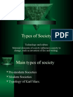 Types of Society
