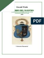 Wirth Oswald - El Libro Del Maestro