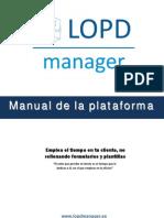 Manual Lopdmanager v 1 0